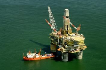 Russian Oil Rig - Public Domain Image via Pixabay
