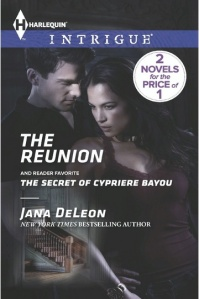 The Reunion (Mystere Parish: Family Inheritance #3) by Jana DeLeon (Harlequin Intrigue, October 1, 2013)