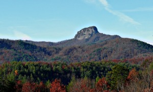 How I picture the view from Kevin's mountain cabin (view of North Carolina mountains - public domain image via Pixabay)