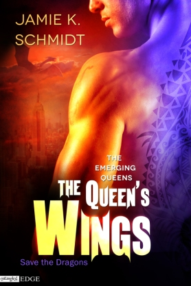 The Queen's Wings (The Emerging Queens) by Jamie K. Schmidt (Entangled: Edge, May 27, 2014)