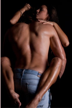 Colton and Kady are hot, hot, hot with plenty of up-against-the-wall-while-I-hold-your-wrists sexy time. Yum. (Image purchased from Shutterstock under web license)